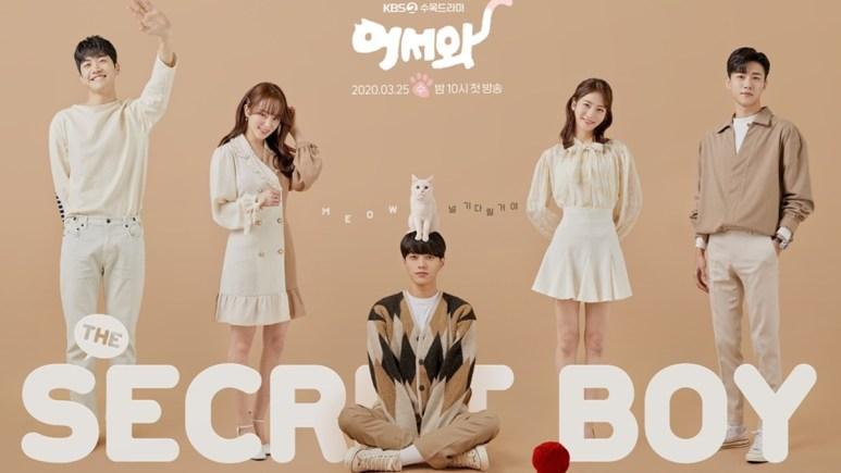 Meow, The Secret Boy promotional poster
