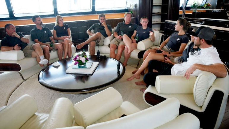 Below Deck Sailing YAcht crew shares charter guest red flag knowledge.