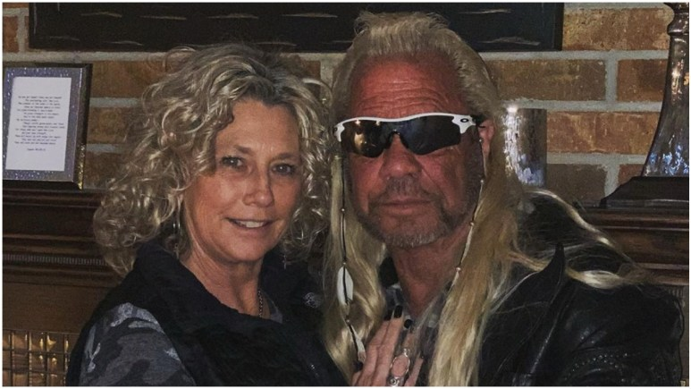 Dog the Bountry Hunter and Francie Frane