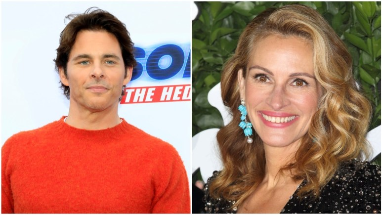James Marsden and Julia Roberts on the red carpet