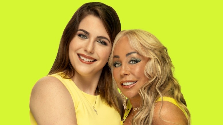 Brittani and Mary in a promotional photo for sMothered Season 2