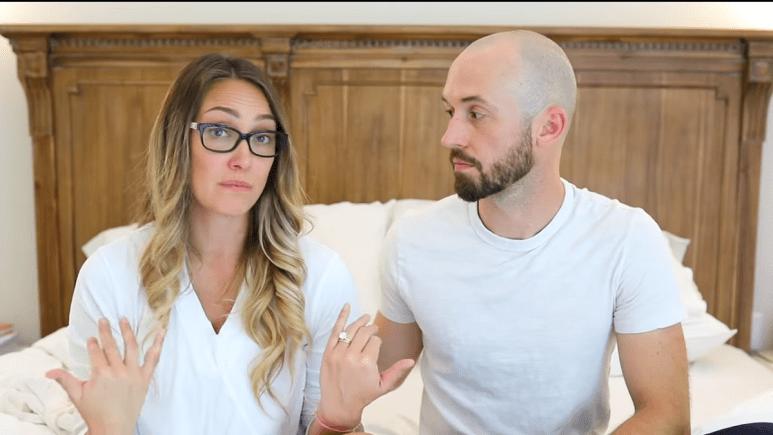 YouTuber Myka Stauffer and her husband James