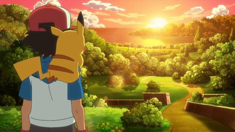 Pokemon Journeys Ash Ketchum Pikachu