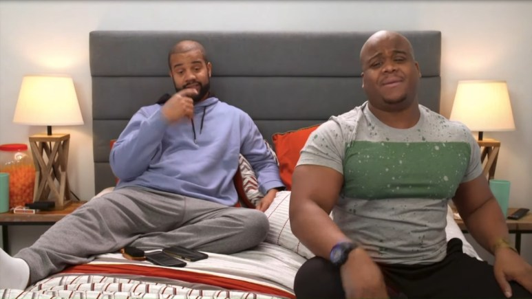 Tarik Myers and Dean Hashim on 90 Day Fiance Pillow Talk