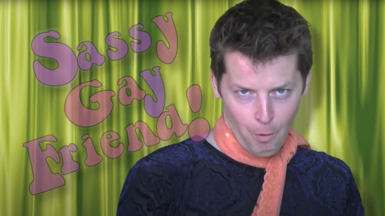 Brian Gallivan as Sassy Gay Friend