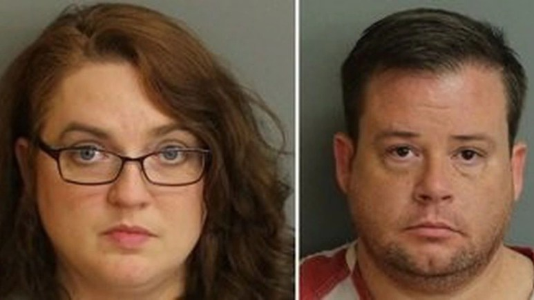 Mugshots of Cindy Reese and Jeffrey Brown