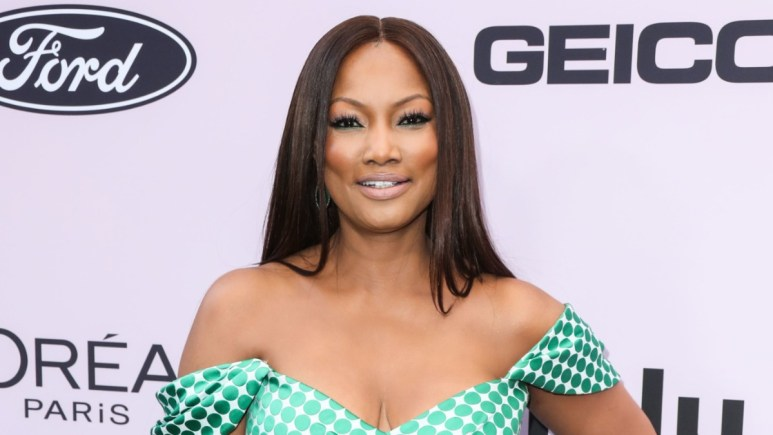 Garcelle Beauvais on the red carpet