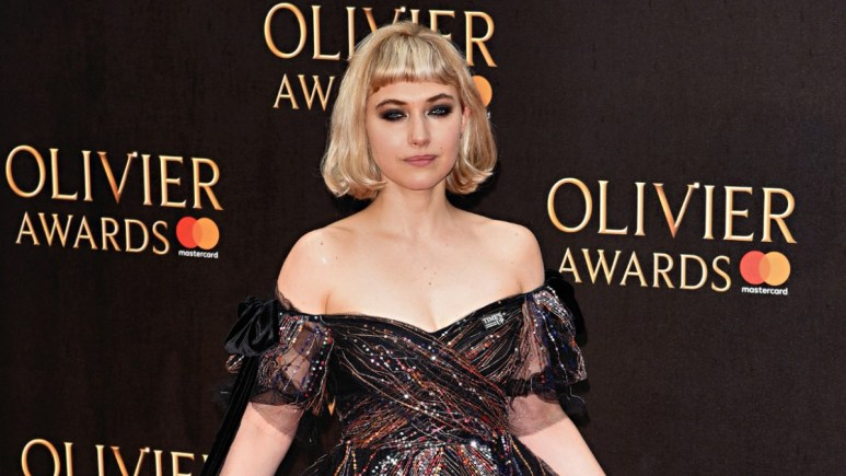 Imogen Poots on the red carpet