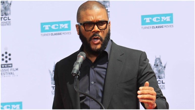 Tyler Perry asks protesters to 'stop the violence,' blames outside forces