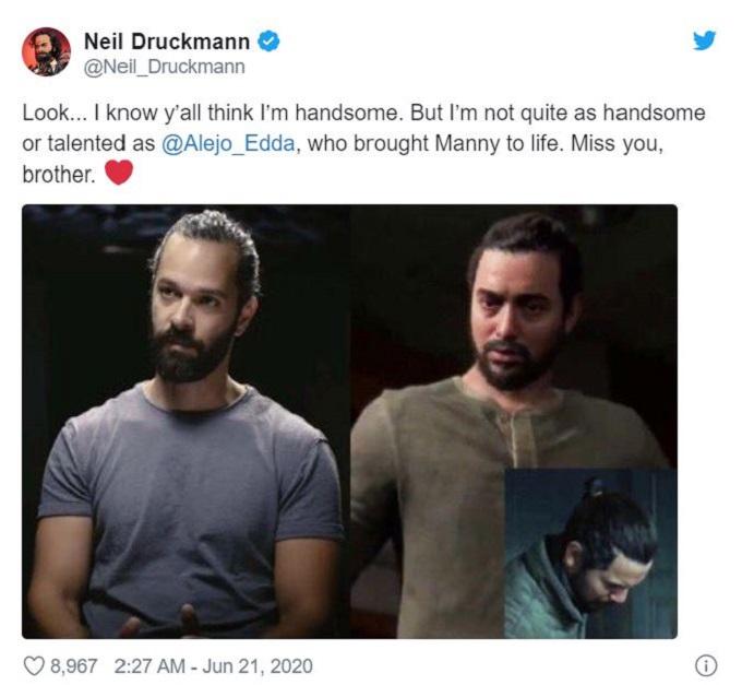 Neil Druckmann on Twitter