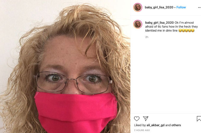 Lisa Hamme had an altercation with fans.