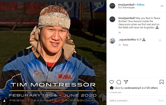 Tim Montressor obituary