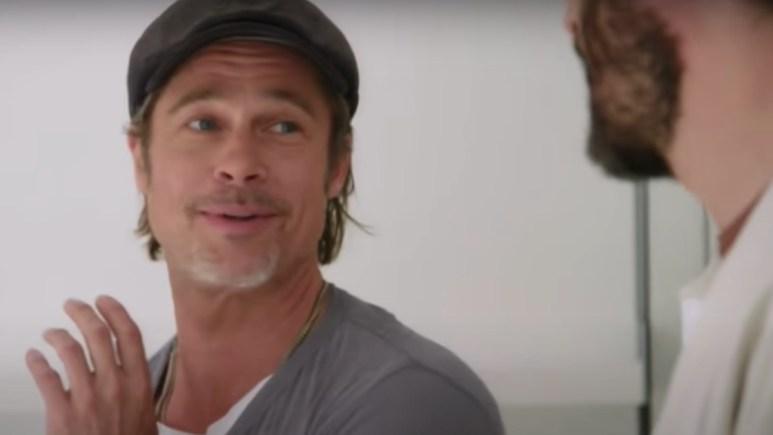 Brad Pitt on Property Brothers: Celebrity IOU