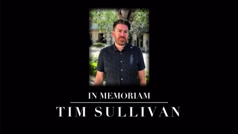 Tim Sullivan tribute on Floor is Lava