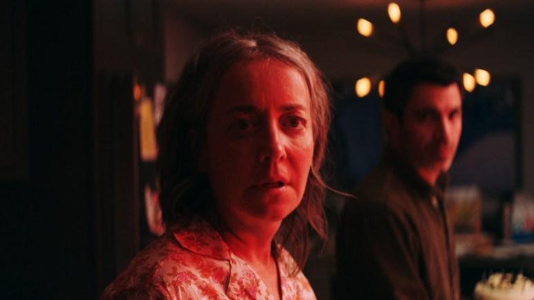 Jane Adam and Chris Messina in She Dies Tomorrow
