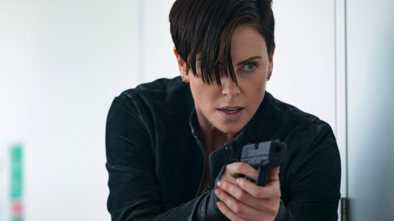 Charlize Theron as Andy from The Old Guard