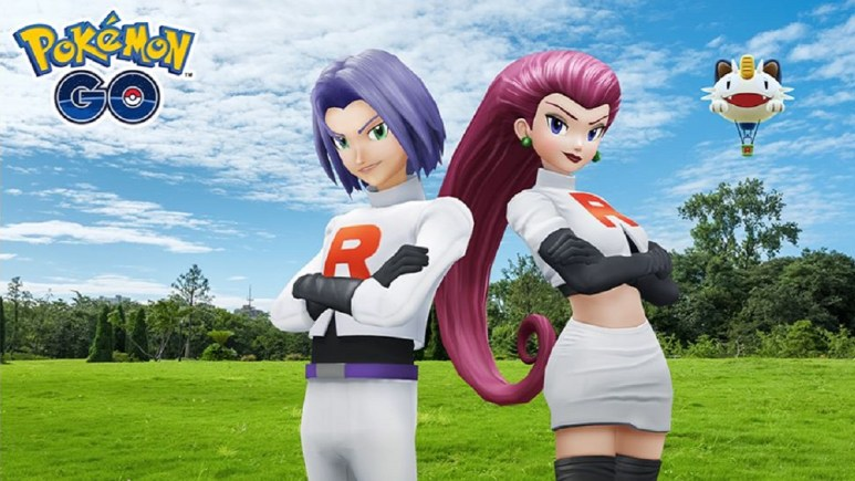 Team Rocket's Jessie and James