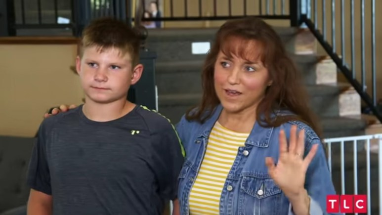Tyler and Michelle in a Counting On episode.