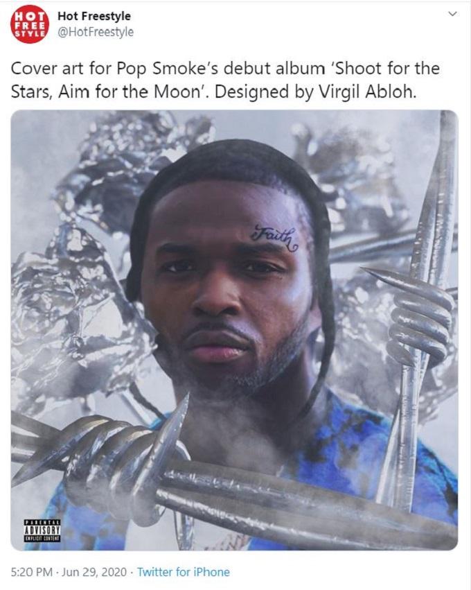 The cover art for Pop Smoke's posthumous album