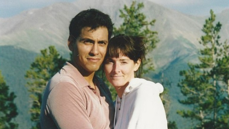Rey Rivera and his wife Allison
