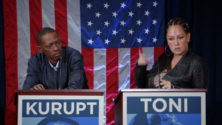 Kurupt and Toni on Marriage Boot Camp Hip Hop Edition
