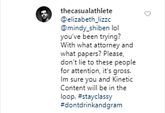 Zach says Mindy is lying