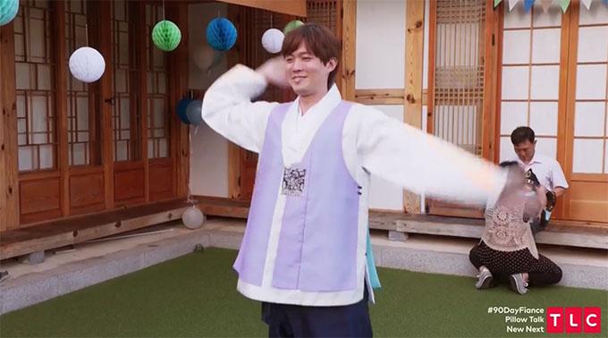 90 day fiance other way Jihoon dancing in Korean dress