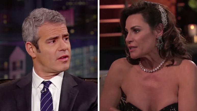 Andy Cohen and Luann De Lesseps