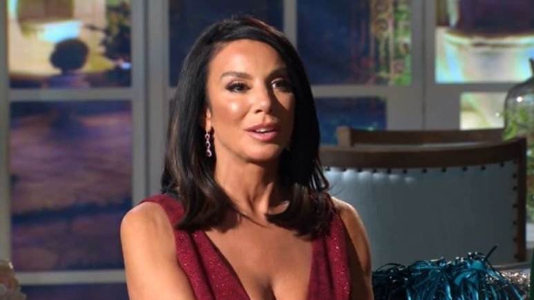 Real Housewives of New Jersey star Danielle Staub accuses Andy Cohen of doing hard drugs.