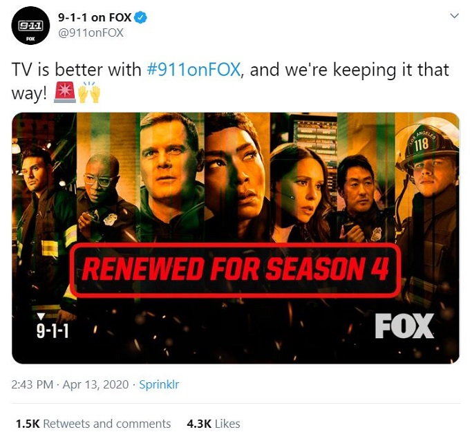 Fox's 9-1-1