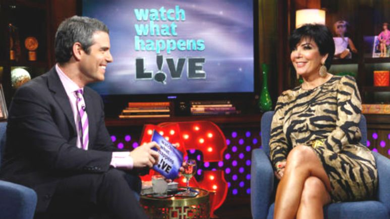 Andy Cohen squashes Kris Jenner joining RHOBH rumors.