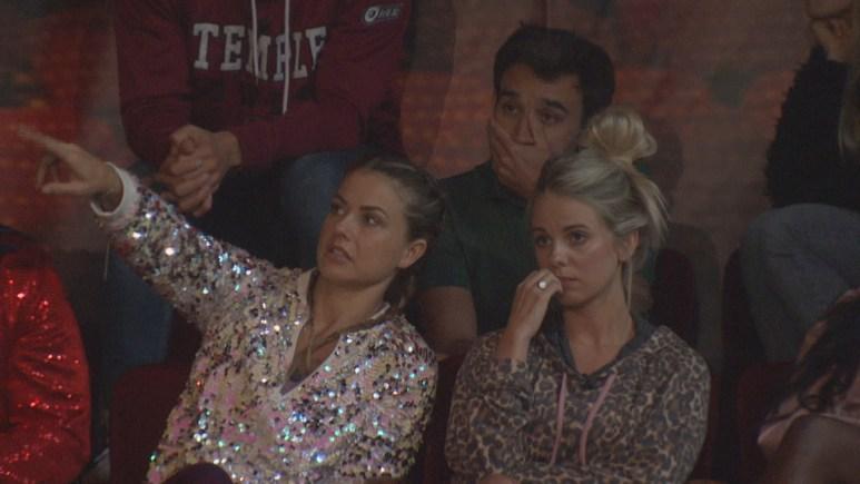 BB22 Cast Watching The Drama