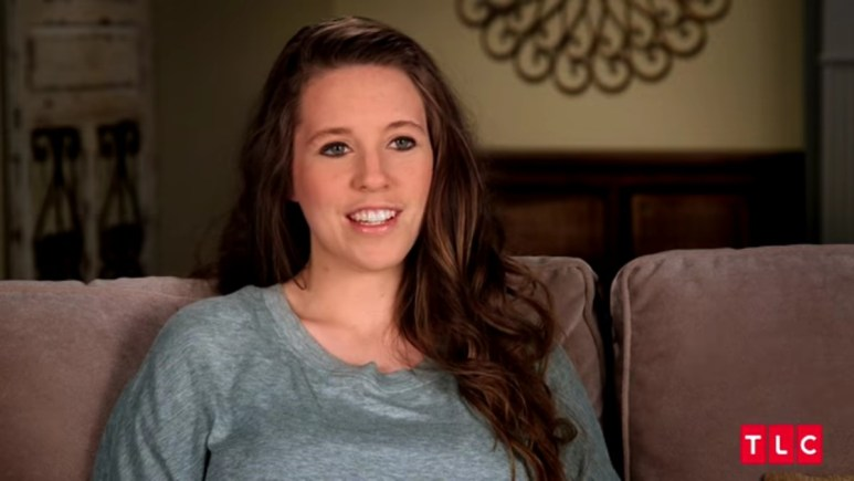 Jill Duggar in a Counting On confessional.