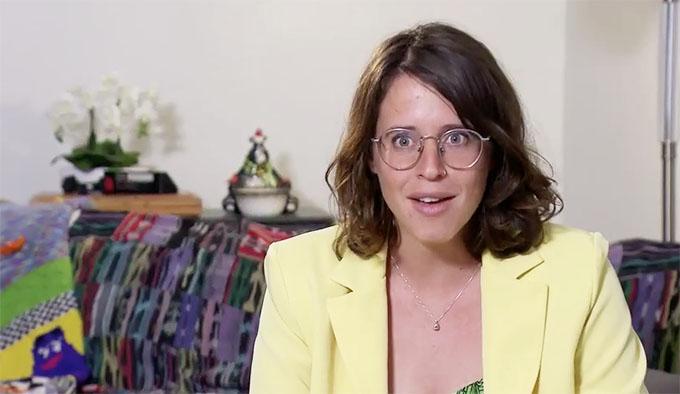 MAFS Season 11 Amelia in a conservative look