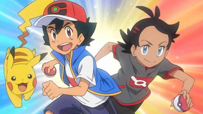 Pokemon Ash and Goh