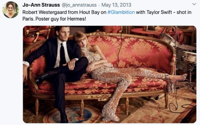 Rob and Taylor tweet