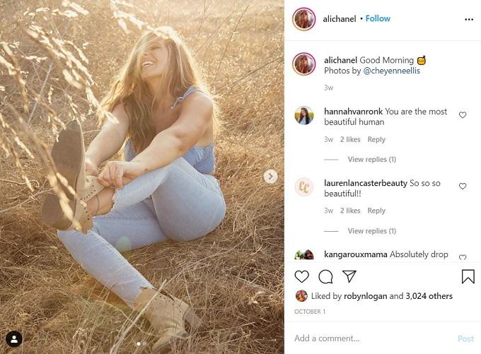 Ali Chanel on Instagram