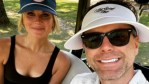 Bobby Bones and Caitlin Parker pose for a selfie on Instagram