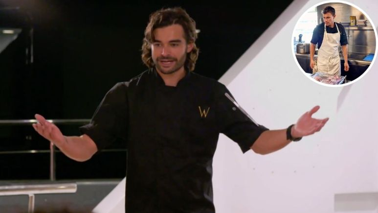 Below Deck Med: Chef Kiko continues to give positive vibe to Chef Tom.