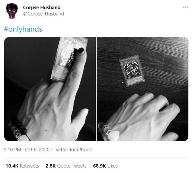 Corpse Husband on Twitter