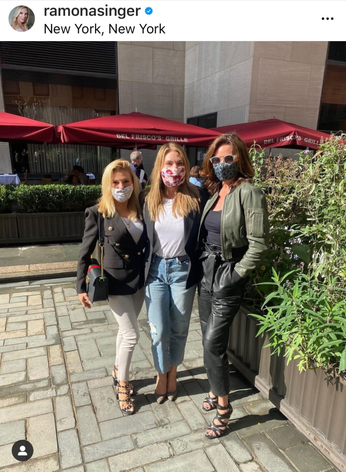 Ramona Singer shares photo of Heather Thomson and Luann de lesseps