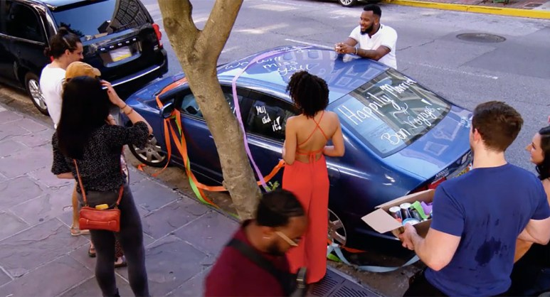 MAFS Season 11 couples decorating Bennett and Amelia's car