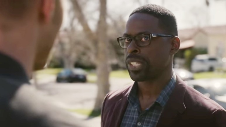 Sterling K. Brown as Randall on This Is Us.