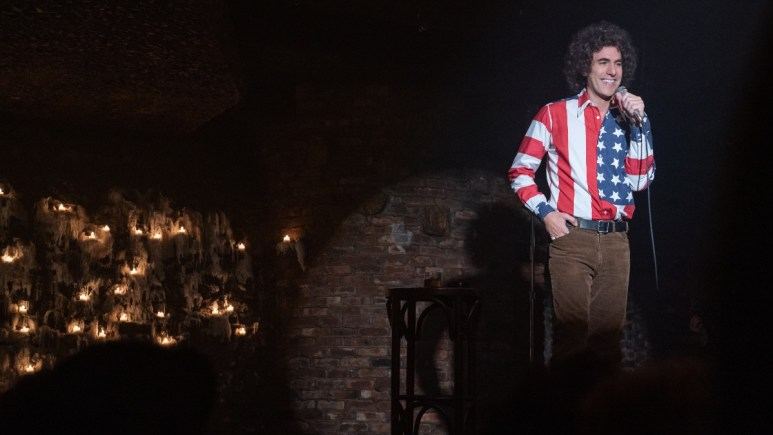Sacha Baron Cohen as Abbie Hoffman