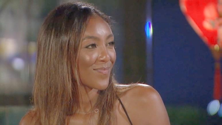 Tayshia Adams on The Bachelor