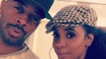 Tim Weatherspoon and Kelly Rowland pose on Instagram