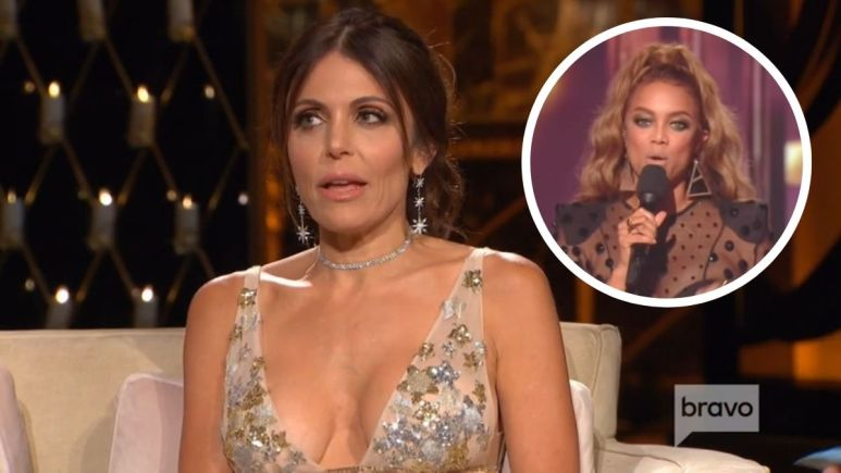 Bethenny Frankel has a response to Tyra Banks not wanting housewives of Dancing with the Stars