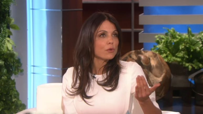 Former RHONY alum Bethheny Frankel talks about her recent breakup on the Ellen Show