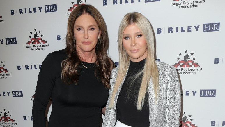 caitlyn jenner with girlfriend sophia hutchins