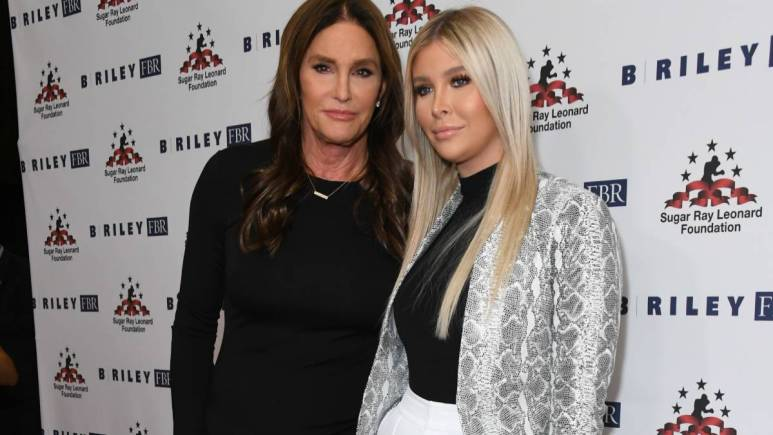"""Caitlyn Jenner, Sophia Hutchins. The 10th Annual """"Big FIghters, Big Cause"""" Charity Boxing Event held at Beverly Hilton Hotel."""